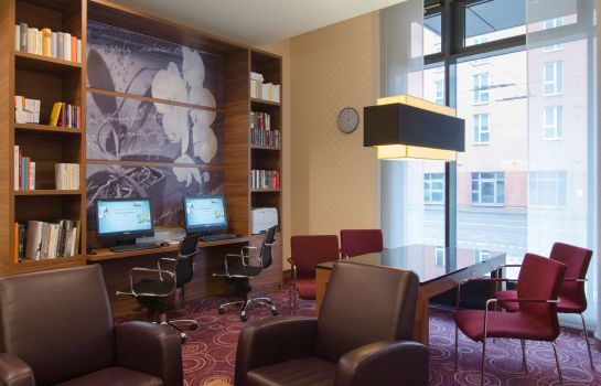 Hotelhalle Hampton by Hilton Nuremberg City Center Bavaria