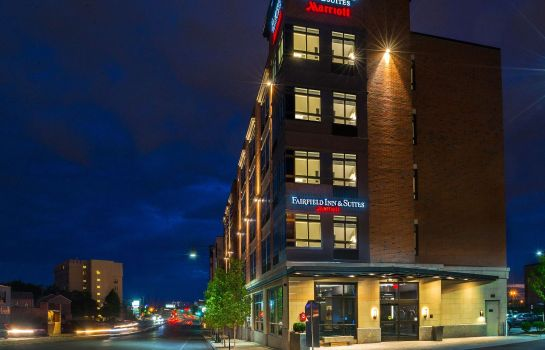 Außenansicht Fairfield Inn & Suites Boston Cambridge