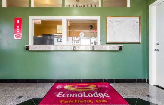 Hotelhalle Econo Lodge Fairfield