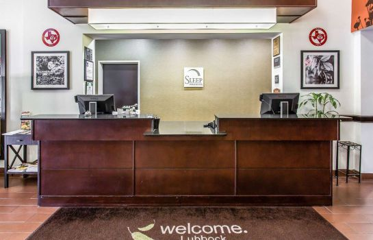 Hall de l'hôtel Sleep Inn and Suites Lubbock
