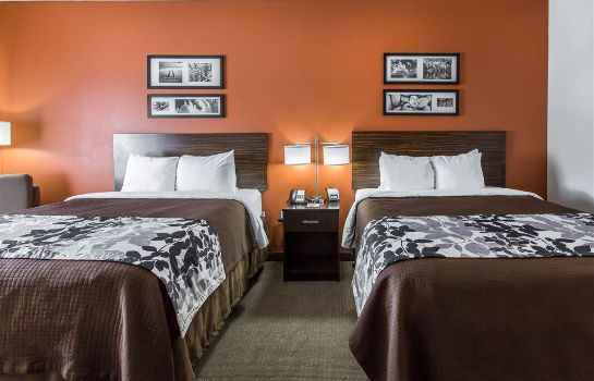 Chambre Sleep Inn and Suites Lubbock