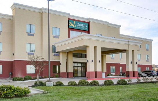Buitenaanzicht Quality Inn and Suites Bryan