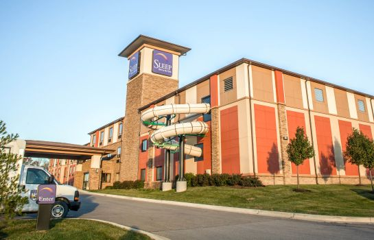 Vista esterna Sleep Inn & Suites Liberty - Kansas City