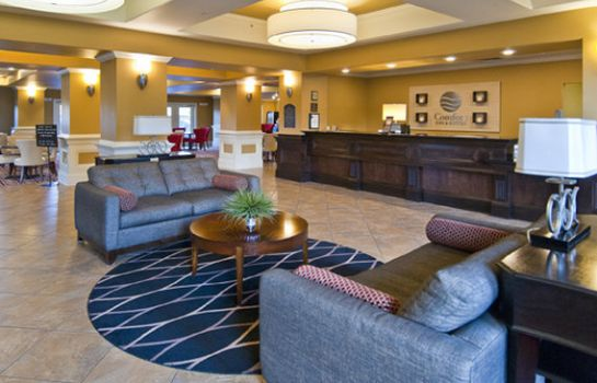 Hall de l'hôtel Comfort Inn & Suites Fort Smith