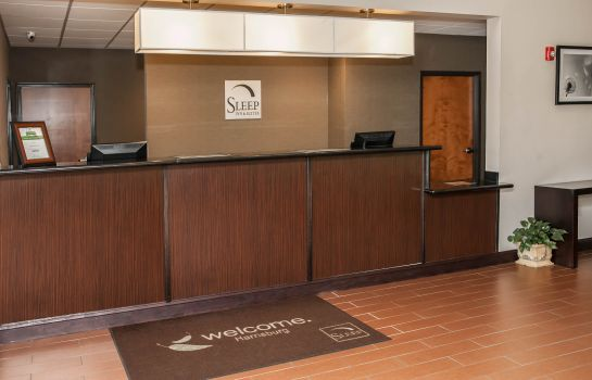 Hall de l'hôtel Sleep Inn and Suites Harrisburg - Hershe