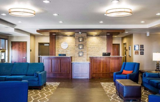 Hotelhalle Comfort Inn and Suites Cheyenne