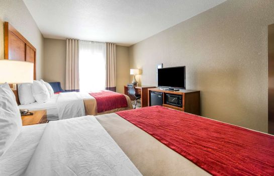 Zimmer Comfort Inn and Suites Cheyenne