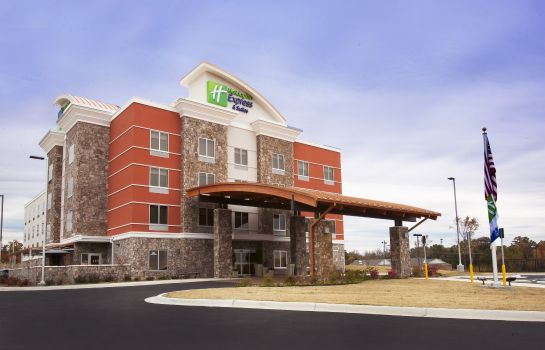 Vista exterior Holiday Inn Express & Suites HOT SPRINGS