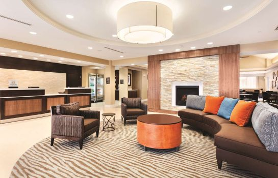 Vestíbulo del hotel Homewood Suites by Hilton Atlanta Airport North