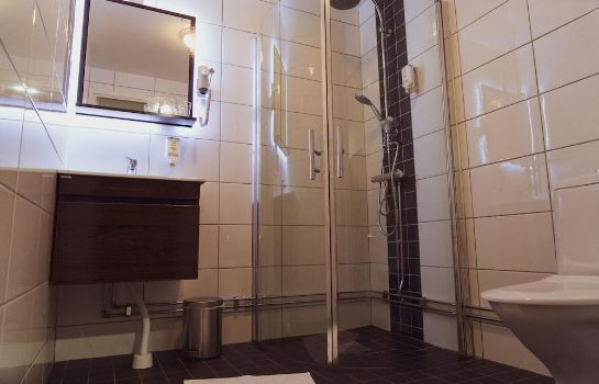 Bagno in camera Liljeholmens Stadshotell