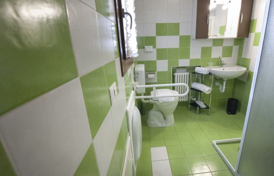 Bagno in camera Romeo House Affittacamere
