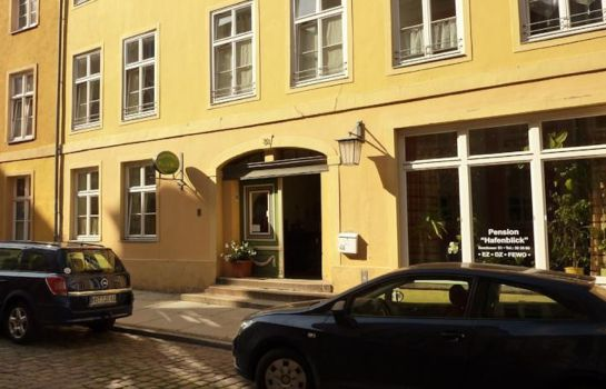 Exterior view Pension Hafenblick