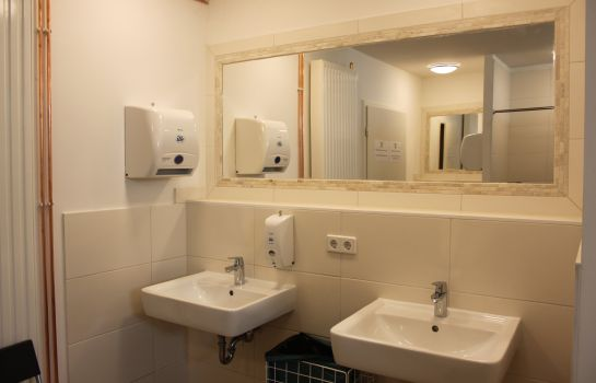 Bagno in camera Qbe Hotel Heizhaus Berlin