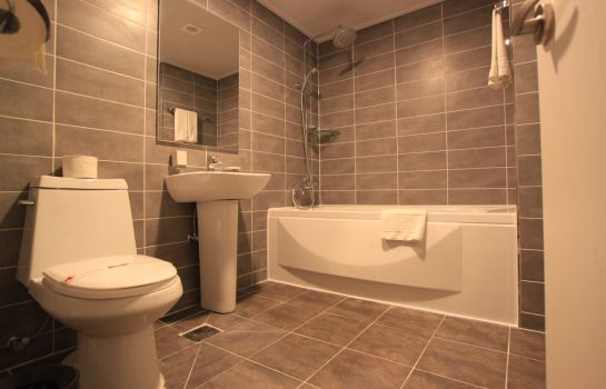 Bagno in camera Hotel Foret Busan Station