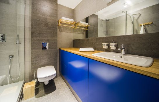 Bagno in camera Mosquito Silesia Apartments