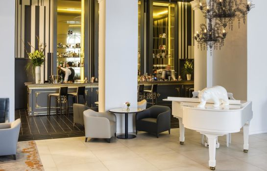 Hotel bar Cures Marines Trouville Hôtel Thalasso & Spa-MGallery by Sofitel