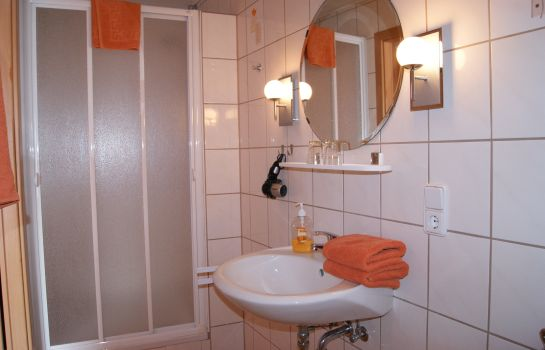 Badezimmer Pension Heib
