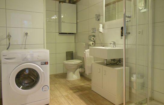 Badezimmer Stadthotel Appartments