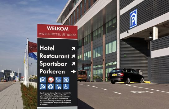 Vista exterior Worldhotel Wings Rotterdam The Hague Airport