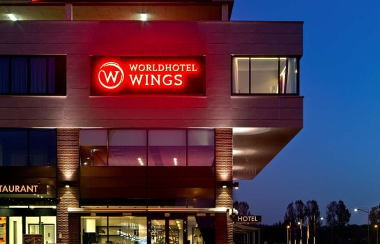 Außenansicht Wings Hotel Rotterdam The Hague Airport