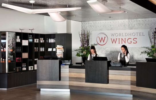 Hotelhalle Wings Hotel Rotterdam The Hague Airport