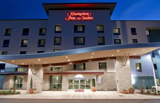 Außenansicht Hampton Inn - Suites Bellevue Downtown-Seattle WA