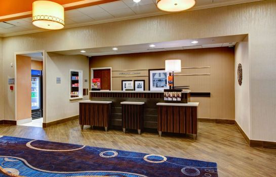 Hotelhalle Hampton Inn and Suites Columbus MS