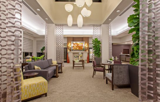 Lobby Hilton Garden Inn Irvine-Orange County Airport