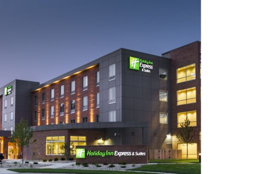 Außenansicht Holiday Inn Express & Suites MADISON CENTRAL