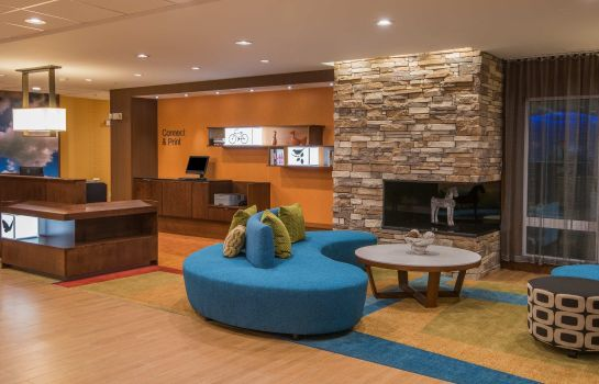 Hotelhalle Fairfield Inn & Suites Fort Wayne Southwest
