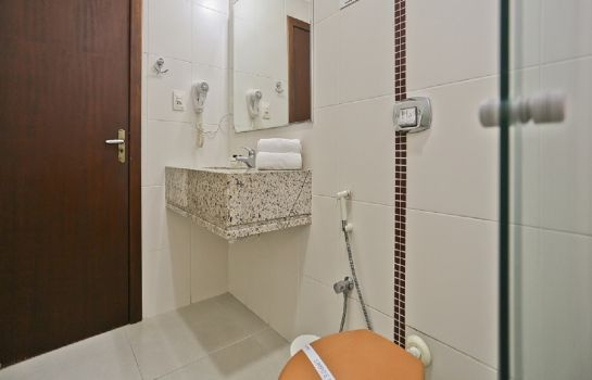 Bagno in camera Sandri City Hotel