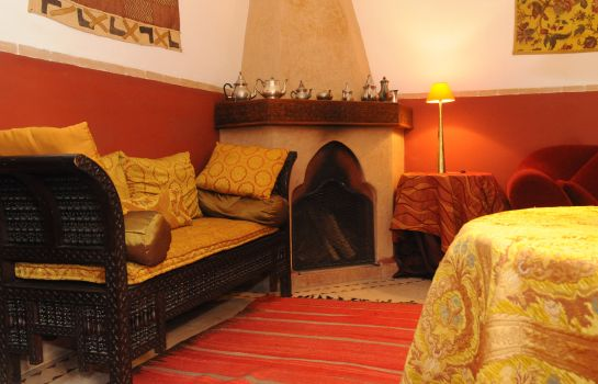 Reading room Riad Sable Chaud