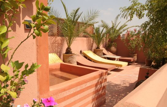 Terrace Riad Sable Chaud