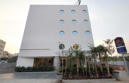 Exterior view Best Western Ashoka Hitec City