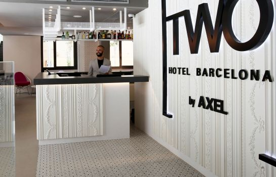 Empfang TWO Hotel Barcelona by Axel Adults Only