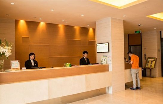 Recepción JI Hotel West Lake Nanshan Road Branch
