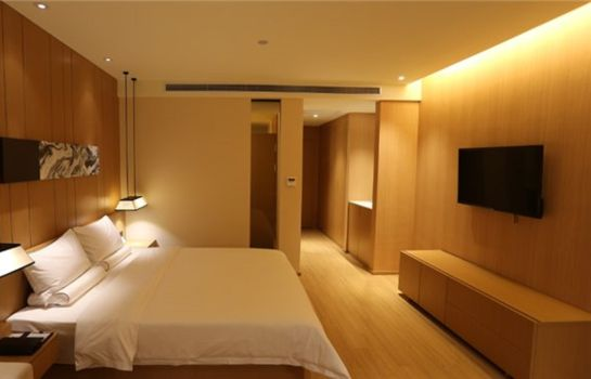 Single room (standard) Starway Hotel Anting Subway Station