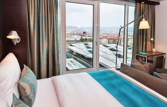 Single room (standard) Motel One Wien-Hauptbahnhof