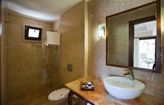 Bagno in camera Boutique Hotel Montana