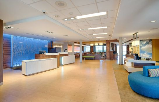 Hol hotelowy Fairfield Inn & Suites Columbus Dublin