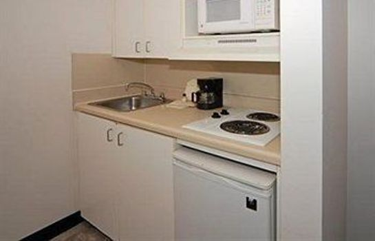 Kitchen in room Home-Towne Studios - Chamblee