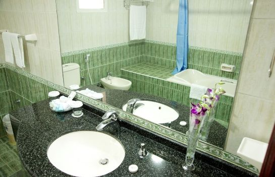 Bagno in camera Green Mubazzarah Chalets