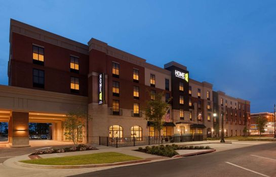 Vista exterior Home2 Suites by Hilton Tuscaloosa Downtown University