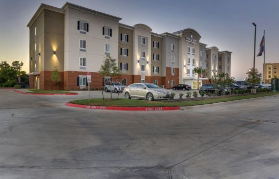 Vista exterior Candlewood Suites COLLEGE STATION AT UNIVERSITY