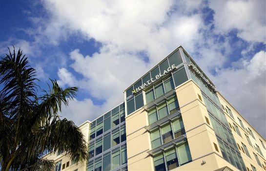 Buitenaanzicht Hyatt Place Miami Airport East