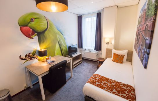 Single room (standard) Amsterdam Teleport Hotel