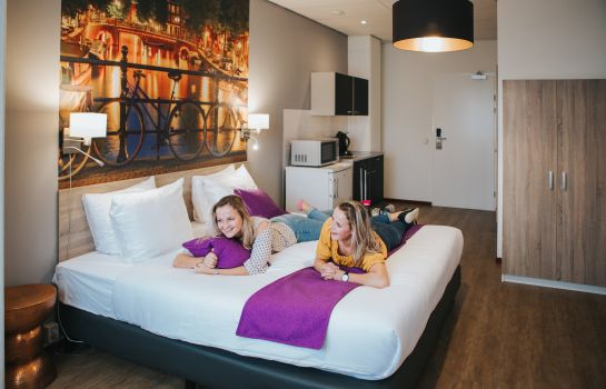 Double room (superior) Amsterdam Teleport Hotel