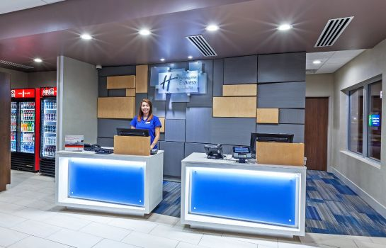 Vestíbulo del hotel Holiday Inn Express & Suites TULSA WEST - SAND SPRINGS