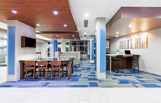 Hotelhalle Holiday Inn Express & Suites TULSA WEST - SAND SPRINGS