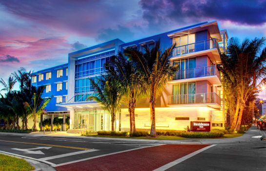 Vista esterna Residence Inn Miami Beach Surfside